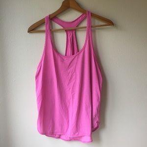 Lululemon 105 F Singlet in Pink